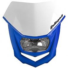 [해외]POLISPORT Halo 9137613559 White / Blue Yamaha 98