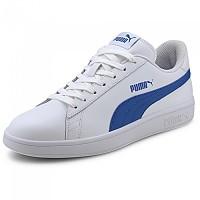 [해외]푸마 Smash V2 L Puma White / Lapis Blue