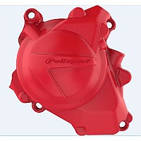 [해외]POLISPORT Ignition Cover Protector Honda CRF450RX 17-20 Red CR 04