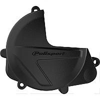 [해외]POLISPORT Clutch Cover Protector Honda CRF450R/450RX 17-20 Black