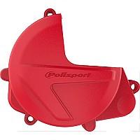[해외]POLISPORT Clutch Cover Protector Honda CRF450R/450RX 17-20 Red CR 04