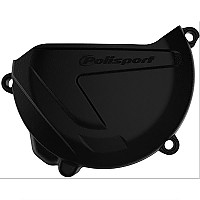 [해외]POLISPORT Clutch Cover Protector Yamaha YZ250 04-20 YZ250X 17-20 Black