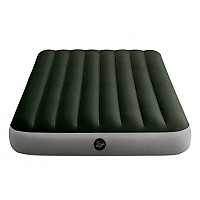 [해외]인텍스 Prestige Downy Inflatable Double Mattress With Pump And Fiber-Tech 4137566128 Green / Grey
