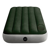 [해외]인텍스 Twin Camping Mattress With Fiber-Tech 4137566129 Green / Grey