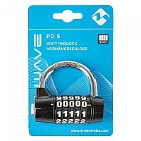 [해외]M-WAVE PD 5 Digit PadLock Black