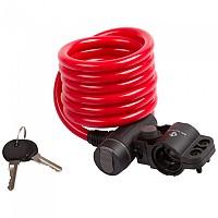 [해외]M-WAVE S 10.18 Spiral 케이블 Lock Red