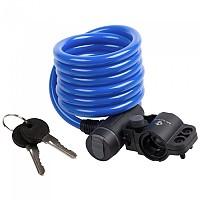 [해외]M-WAVE S 10.18 Spiral 케이블 Lock Blue