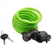 [해외]M-WAVE S 10.18 Spiral 케이블 Lock Green