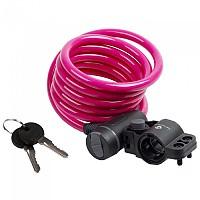 [해외]M-WAVE S 10.18 Spiral 케이블 Lock Pink
