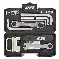 [해외]SUPER B TB-1170 Tool 케이스 Black / Silver