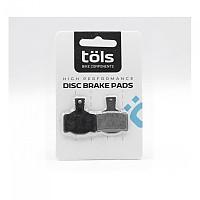 [해외]TOLS Organic Brake Pads 마구라 MT 2/4/6/8 Black / White