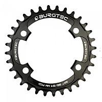 [해외]BURGTEC 96/64 mm PCD Thick 씬 Chainring Black