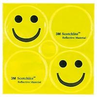 [해외]M-WAVE Reflickers Smile Yellow