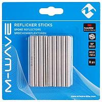 [해외]M-WAVE Reflicker Sticks 18 Units White