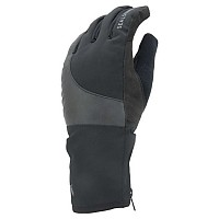 [해외]SEALSKINZ Waterproof 골드 Weather 리플렉티브 Cycle Black