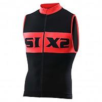 [해외]SIXS Luxury 슬리브less bike jersey Black / Red
