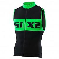 [해외]SIXS Luxury 슬리브less bike jersey Black / Green