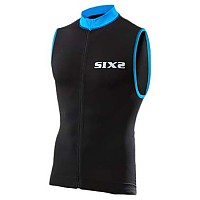 [해외]SIXS 스트라이프s 슬리브less Bike 저지 Black / Light blue