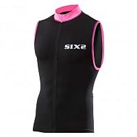 [해외]SIXS 스트라이프s 슬리브less Bike 저지 Black / Pink