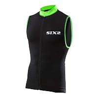 [해외]SIXS 스트라이프s 슬리브less Bike 저지 Black / Green