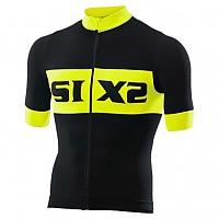 [해외]SIXS 저지 Biking S/S Luxury Black / Yellow