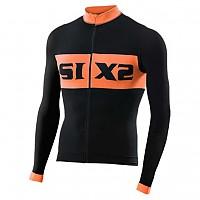[해외]SIXS Luxury LS bike jersey Black / Orange