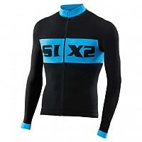 [해외]SIXS Luxury LS bike jersey Black / Light blue