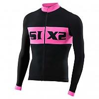 [해외]SIXS Luxury LS bike jersey Black / Pink