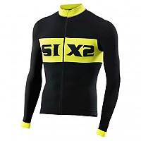 [해외]SIXS Luxury LS bike jersey Black / Yellow