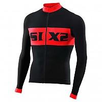 [해외]SIXS Luxury LS bike jersey Black / Red
