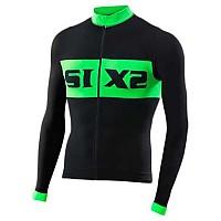 [해외]SIXS Luxury LS bike jersey Black / Green