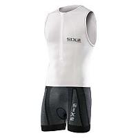[해외]SIXS 사이클링 Bodysuit Black / White