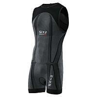 [해외]SIXS Triathlon BodySuit Black Carbon