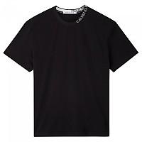 [해외]캘빈클라인 JEANS Collar Intarsia Ck Black