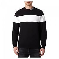 [해외]캘빈클라인 JEANS Collar 로고 블록 스트라이프 Ck Black
