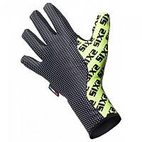 [해외]SIXS Winter Long Gloves 3137653744 Black Carbon / Yellow Fluo