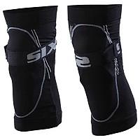 [해외]SIXS Kit Knee Pad 위드 Protection Black