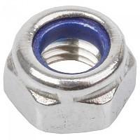 [해외]M-WAVE Self Locking Nut 100 Units 1137642221 Silver