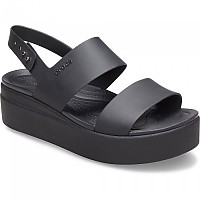 [해외]크록스 Crocs Brooklyn Low Wedge Woman137684590 Black / Black