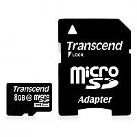 [해외]KSIX Memory Card Trascendend Micro Sdhc 8 Gb Class 10 Adapter 1135986943