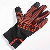 [해외]켈미 North Gloves 3137651673 Black / Neon Orange
