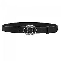 [해외]ONLY Rasmi Faux Leather Jeans 137732903 Black / Detail Black / Shiny Silver Buckle