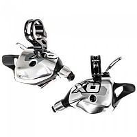 [해외]스램 X0 Front&Rear Trigger Shifter Set 1137746831 Silver / Black