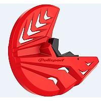[해외]POLISPORT Disc&Bottom Fork Protector Honda CRF250R/450R 10-14 9137612088 Red CR 04