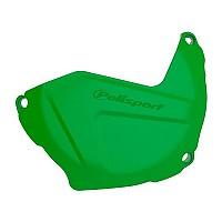 [해외]POLISPORT Clutch Cover Protector Kawasaki KX250F 09-20 9137612594 Green KX 05