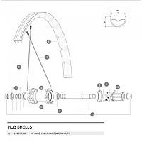 [해외]마빅 ITS4 QRM Auto Axle Kit 1137660349 Silver
