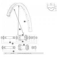 [해외]마빅 QRM Auto MTB Front Axle 1137660355 Black / Silver