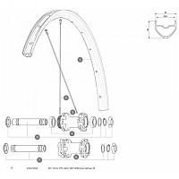 [해외]마빅 D6T Auto Allroad 19 Front Axle Kit 1137660363 Black / Silver