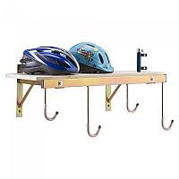 [해외]PERUZZO 4 Bikes Wall Support 1137755136 Wood