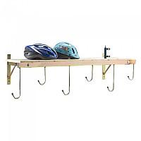 [해외]PERUZZO 6 Bikes Wall Support 1137755137 Wood